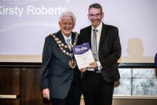 Chandlers Ford stroke survivor receives regional recognition