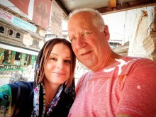 Rachael to support the Stroke Association after tragically losing Husband who was loved in the community