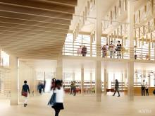 Bibliotekskongress i Skellefteå blir av trots uppskjuten byggstart för kulturhuset