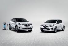 Ny CLIO og Ny CAPTUR – nu som hybrid