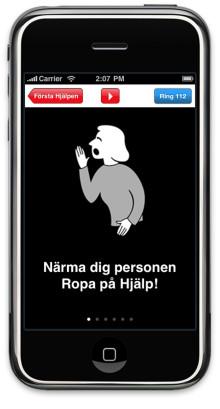Röda Korset släpper iPhone-app som räddar liv