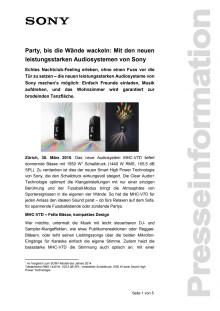 Medienmitteilung_HighPoweredAudiosystems_D-CH_150330