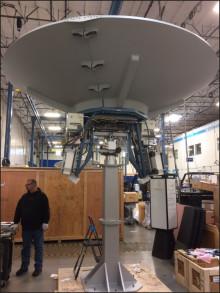 Cobham SATCOM - Satellite 2017: New LEO/MEO Earth Station Antennas Cut Operational Costs