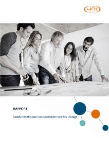 Samfunnsøkonomiske kostnader for hiv i Norge (Link Medical)