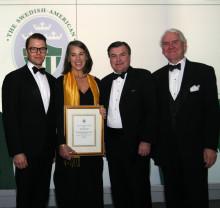 SACC New York Deloitte Green Award 2011: Svenska Solvatten erhöll årets pris av H.K.H. Prins Daniel