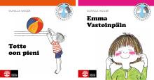 Natur & Kultur tillgängliggör Totte och Emma-böckerna på det nationella minoritetsspråket meänkieli
