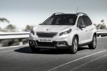 Peugeot fördubblar tillverkningen av nya crossovern 2008