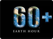 Earth hour i Karlshamn