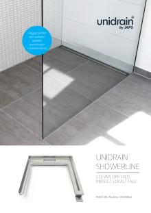 unidrain® - ShowerLine - Broschyr