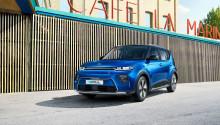 Nye Kia e-Soul med doblet batterikapasitet og rekkevidde på 452 kilometer.