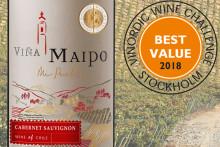 Viña Maipo – Sveriges mest prisvärda vin under 70 kr