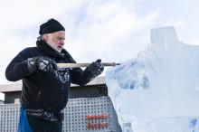 Sveriges största isskulpturutställning i stadsmiljö