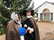 Historien tar plats på Falu Gruvas julmarknad
