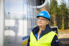 Reisning av Finjas vindkraftverk