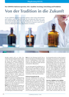 Das GEHWOL-Markenversprechen: Von der Tradition in die Zukunft - Qualität, Forschung, Entwicklung und Produktion