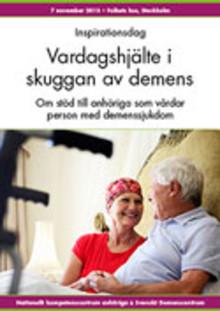 Inspirationsdag om stöd till anhöriga vid demenssjukdom