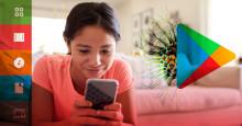 Skadlig kod gömd i barnappar på Google Play