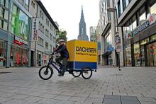 DACHSER Langenau startet die Belieferung per Lastenrad