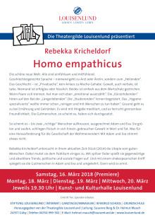 Theatergilde - Homo empathicus