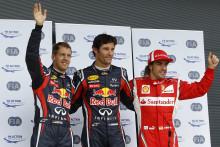 Webber i pole position efter kvalet till Storbritanniens GP