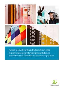 Konst och arkitektur på Skandionkliniken