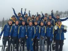 STANLEY Security sponsrar Svenska Skidskyttelandslaget