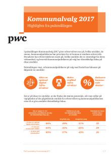 PwC's Pulsmåling: 'Kommunalvalg 2017'