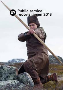 URs public service-redovisning 2018