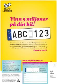 Trafiklotteriet Julkampanj Helsida aftonbladet