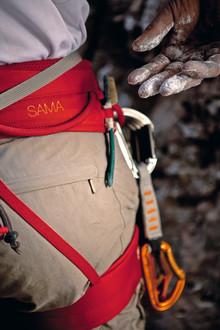 Färgstark klättring med Petzls nya sportselar