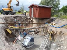 Grundfos hjälper Upplands Väsby Kommun effektivisera pumpstation