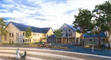 Ramirent levererar när NCC bygger ny skola i Svärtinge, Norrköping