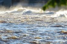Nu kan du följa Västerdalälvens vattenflöde, timme för timme
