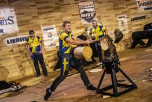 Svenska landslaget slår nytt nordiskt rekord i lag-VM