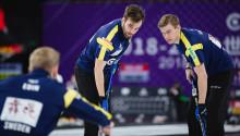 Tredje raka segern för lag Edin vid Curling World Cup