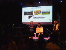 Campushallen tog hem årets förening under Studentidrottsgalan 2018