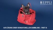 Mit einer weltweiten Rarität und zeitlosen Klassikern in die bereits dritte Runde - Eppli setzt Sonderauktion von Hermès-Taschen fort