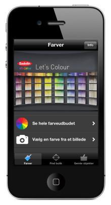 Sadolin øger sin digitale tilstedeværelse med lanceringen af mobilapplikationen – Colours by Sadolin
