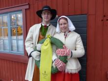 Sara Wadman och Joakim Kullberg är 2018 års kranskulla och kransmas