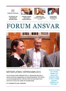 Rapport 2015: Forum Ansvar bygger broar i Norden
