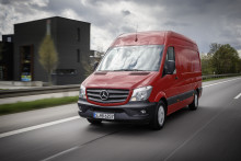 Mercedes-Benz varebiler Sprinter derudad