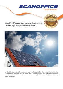 Aurinkosähköjärjestelmät esite