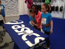 Isabellah Andersson träffade framtidens maratonlöpare