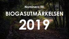 Dags att nominera till Biogasutmärkelsen 2019!