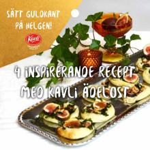 Kavli Ädelost receptfolder jul 2019