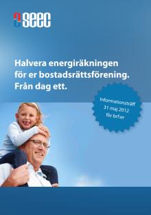 Inbjudan - Informationsträff för brf:er 31 maj i Täby