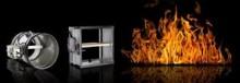 Styresystem for brannspjeld