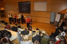 Norsjöelever besöker Campus 26 okt