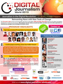 Digital Journalism World 2013 - Brochure