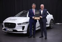 Jaguar I-PACE kåret til Årets Bil i Tyskland